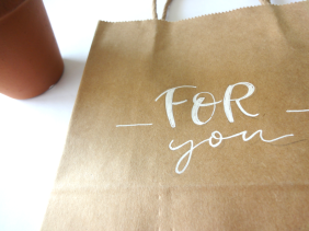 Handlettering - For you